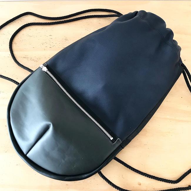 DJ backpack donkerblauw grijs