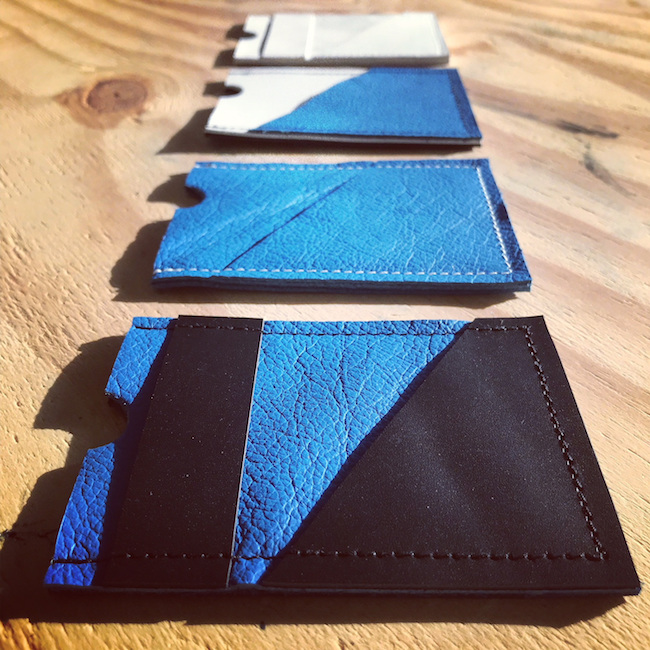 DJ cardholder serie blauw
